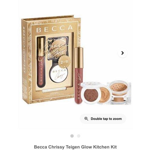 Becca x Chrissy Cravings Glow Kitchen Kit New