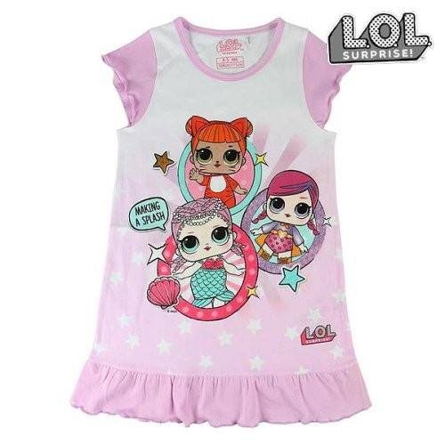 Child's Nightdress LOL Surprise! 74050 White Pink