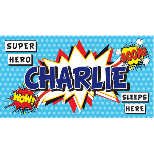 Charlie My Room Sign