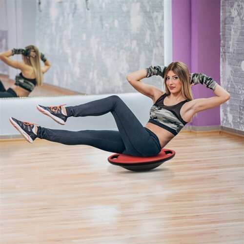 Balance Training Wobble Board Non Slip Exercise With Handle