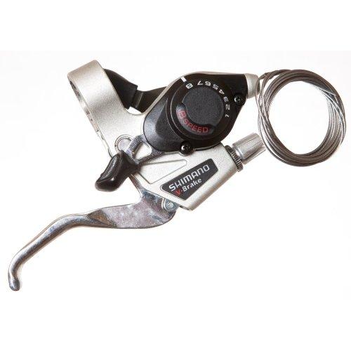 Shimano BIKE//CYCLE BRAKE//GEAR SHIFTER LEFT HAND blk//slv 3speed VBRAKE ST-EF29-L