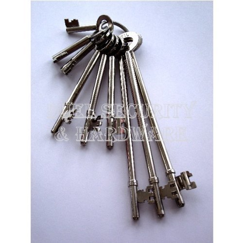 Fire Brigade FB Keys Set of 9, complete set of FB Fireman Brigade Keys