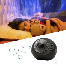 Galaxy Starry Night Lamp LED Star Projector Night Light Ocean Wave Projector UK