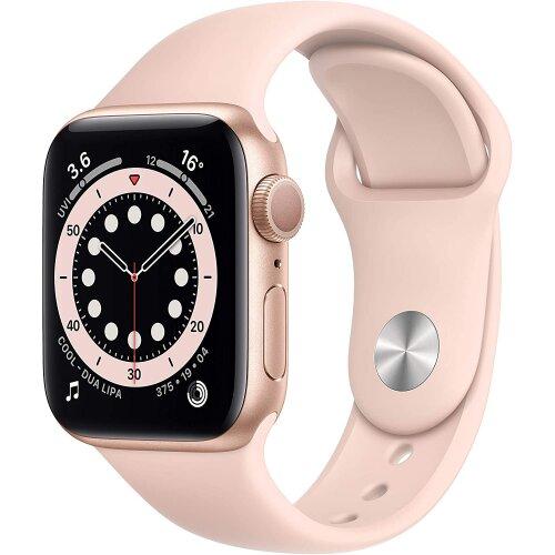 Apple Watch Series 6 GPS, 40mm Gold Aluminium Case
