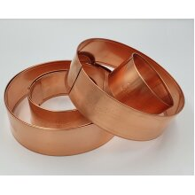 Copper Slug Rings Mixed Pack - 3 x Large and 3 x Small