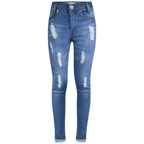 A2Z 4 Kids/® Girls Skinny Jeans Kids Turquoise Stretchy Denim Jeggings Pants Trousers 5-13 Yr