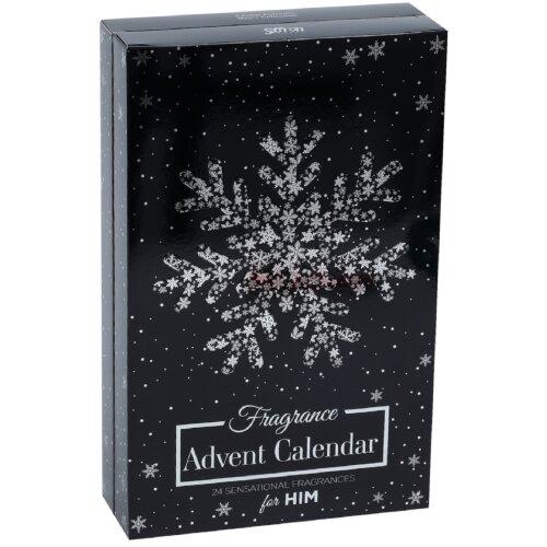 24 Day Advent Calendar Perfume Fragrance Christmas Gift for Him Men