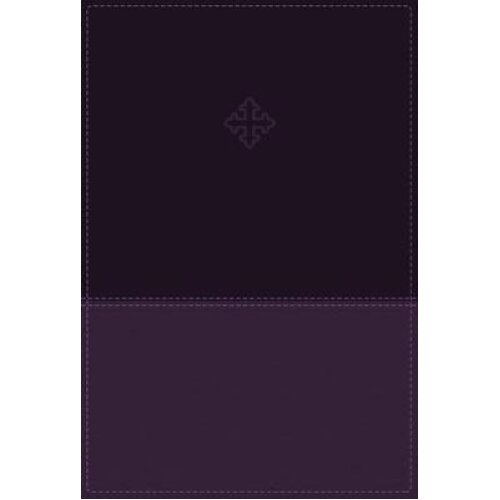 Amplified Study Bible Leathersoft Purple Thumb Indexed by Zondervan