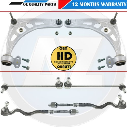 For BMW 330CD Front Suspension arms wishbones bushes track rods ends drop links