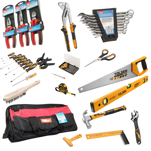 """Tool-Mate 43PC Tool Kit with 17"""" Toolbag"""