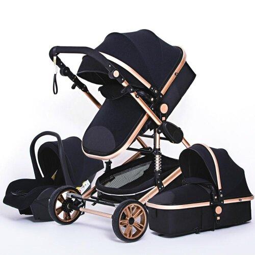 Multifunctional Baby Stroller luxury Portable High Landscape 4 Wheel Stroller Folding Carriage For Newborn Stroller