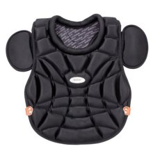 Champion Sports Rhino Series Womens Chest Protector Black 17 Inch