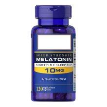 Original Melatonin Nighttime Sleep Aid 10 Mg 120 Pcs  Tablets Help Improve Sleep
