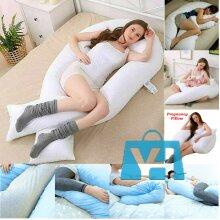 12ft U Shaped Pillow Cushion Body Pregnancy Maternity Sleep Support / Pillowcase