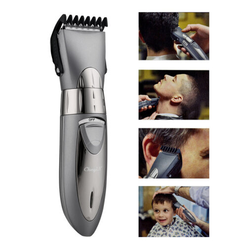 CkeyiN Wireless Rechargeable Electric Hair Mustache Trimmer Waterproof