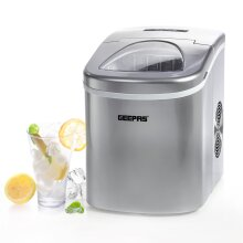 Geepas Ice Cube Maker, Two Sizes, Produces 12kg Ice In 24 Hours
