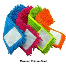 Microfibre Mop Refill Replacement Heads Dust Floor Washable Pads Cloth