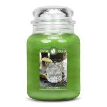 Goose Creek 24oz Large Scented 2 Wick Candle Jar Gin & Tonic