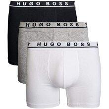 HUGO BOSS 50325404 Men's Boxers 3 Pack Stretch