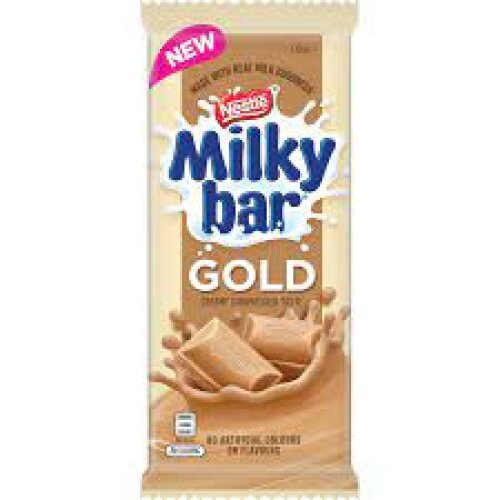Nestle Milkybar Gold Chocolate Bar (170g)