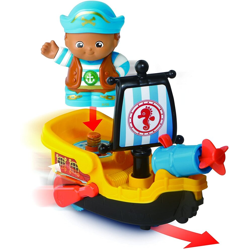 VTech 178803 Toot Friends Kingdom Captain Bob+His Raft Multi-Colour UK