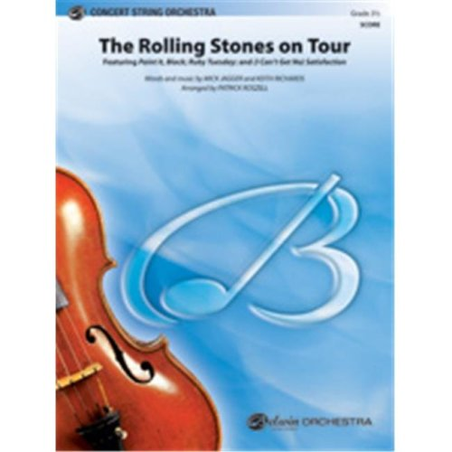Alfred 00-40445 ROLLING STONES ON TOUR THE-PCS