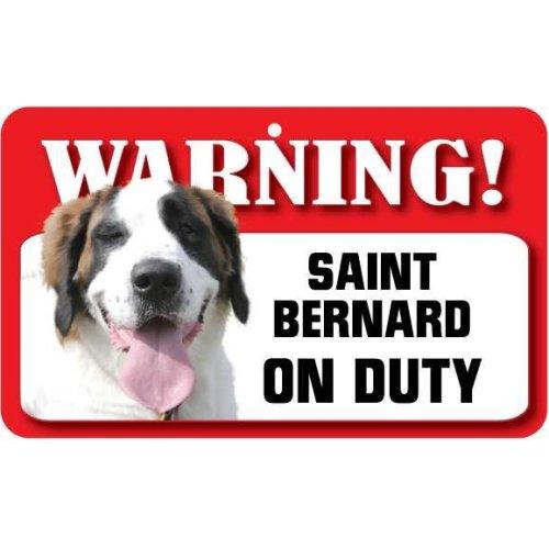Saint Bernard Pet Sign