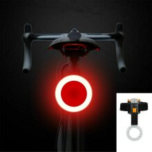 USB Charging Night Riding LED Warning Tail Lights Mountain Headlights