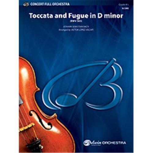 Alfred 00-33694 TOCCATA AND FUGUE-D MIN-BCF