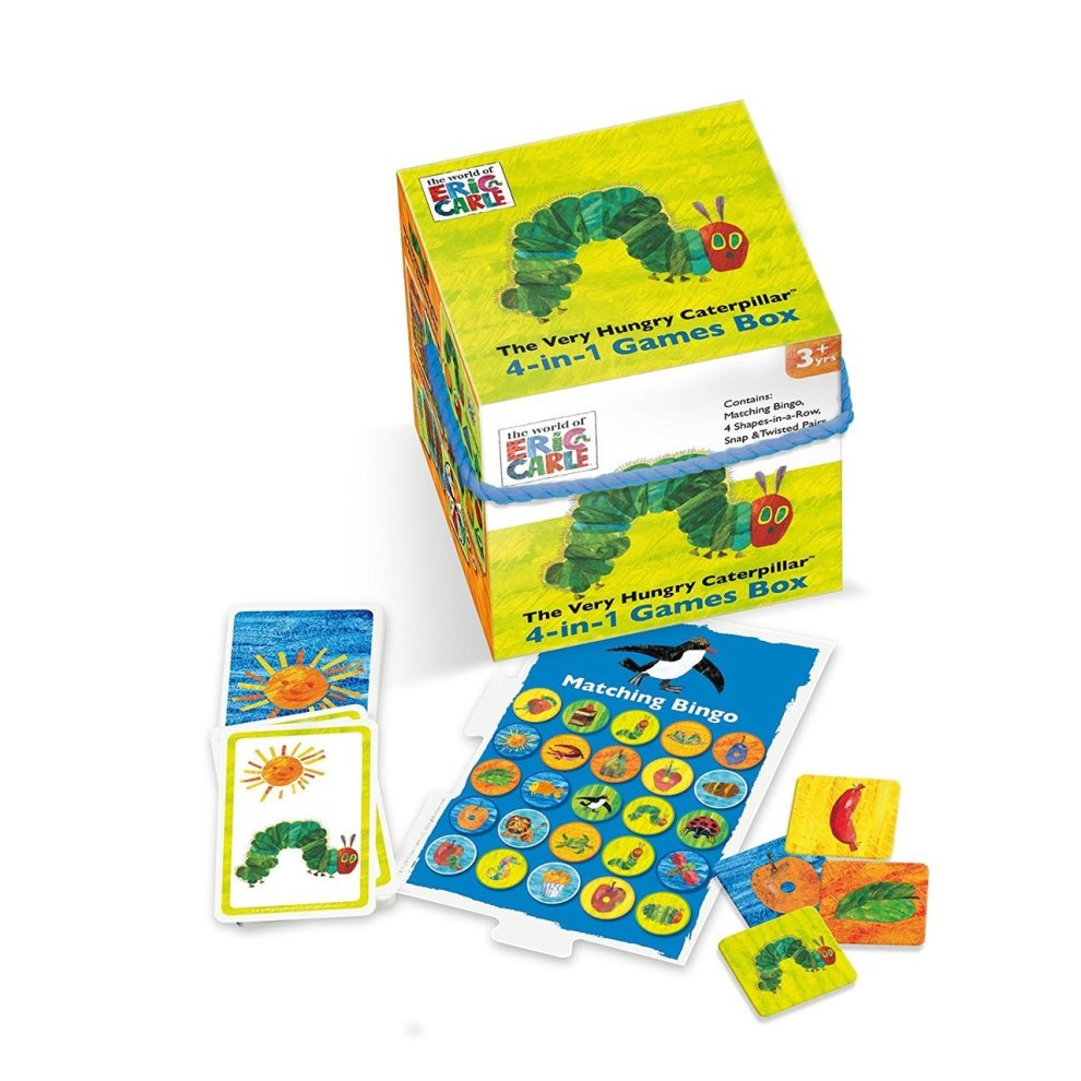 The Very Hungry Caterpillar 4-in-1 Games Cube Paul Lamond