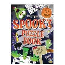 Henbrandt Halloween Puzzle Book