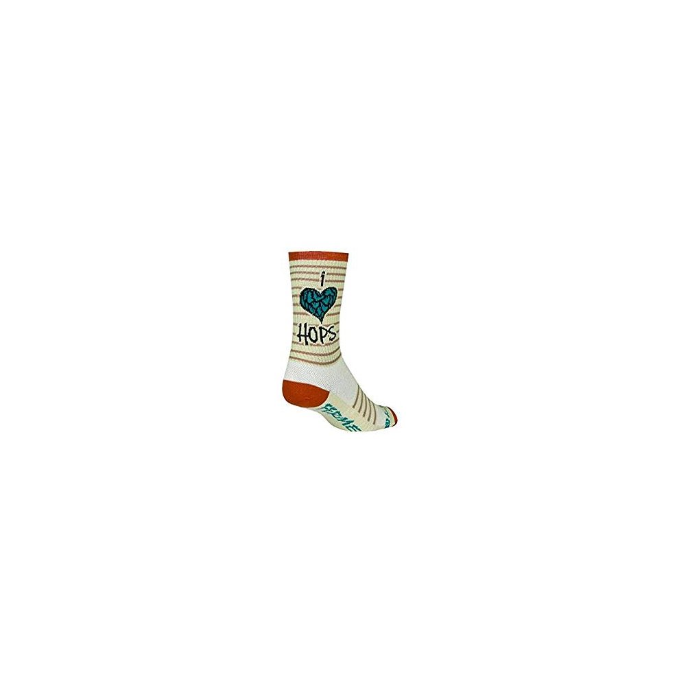 The Fly - L//XL SockGuy Crew 6in The Fly Cycling//Running Socks