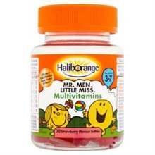 Haliborange Haliborange for Kids 3-7 Mr. Men Little Miss Multivitamins 30 Str