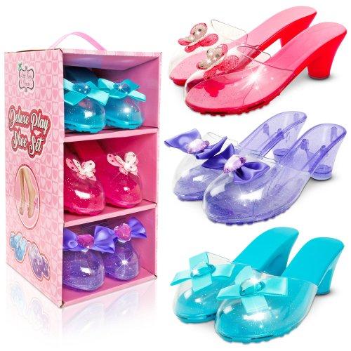 Little Fairy Princess Deluxe Play Shoe Set