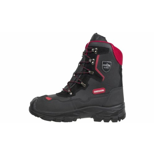 Oregon Yukon Chainsaw Leather Safety Boots Class 1 (20 m/s) - All Sizes