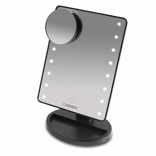Carmen  Noir LED Illuminated Mirror