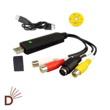 IMPROVED  USB 2.0 VHS To DVD Converter Video And Audio Capture Card Video + Fast Shipping
