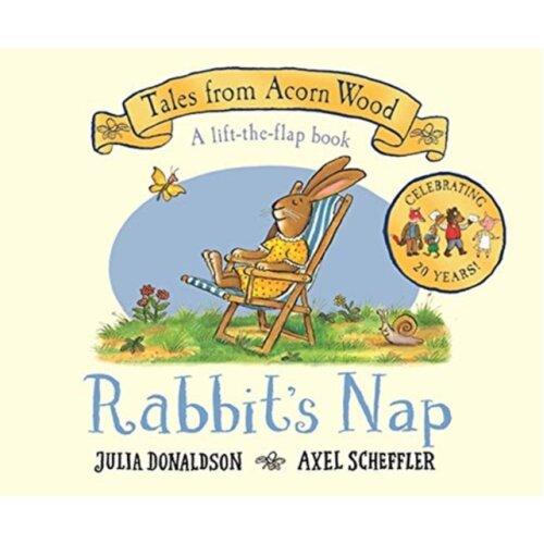 Rabbits Nap 20th Anniversary Edition by Donaldson & Julia