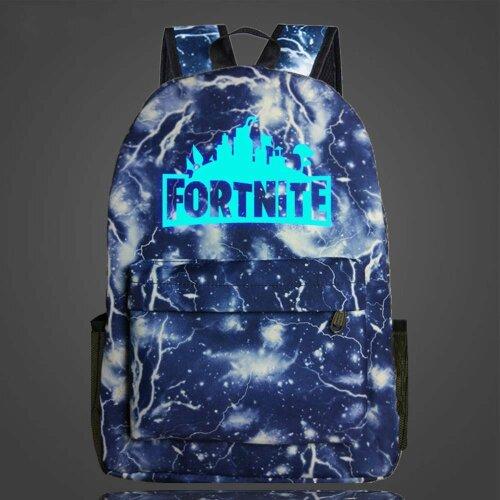 (Thunder & Lightning) Luminous Fornite Backpack | Glow In The Dark Backpack