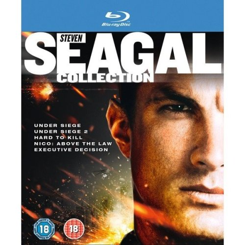 Under Siege / Under Siege 2 / Hard To Kill / Nico - Above The Law / Executive Decision Blu-Ray [2012]