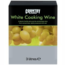 Country Range White Cooking Wine - 4x3ltr