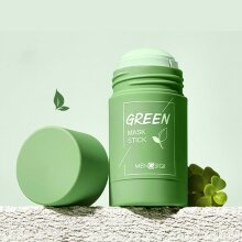Green Tea Clean Face Oil Control Solid Mask Mud Stick