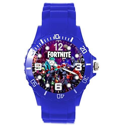 Blue Silicone Watch for FORTNITE Fans