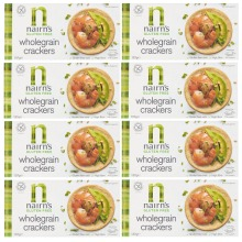 Nairns Gluten Free Wholegrain Crackers Gluten Free Oats 8x137g Best Bef 01.12.21