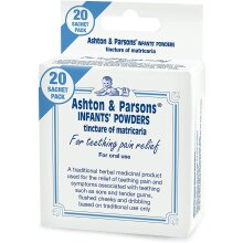 Ashton & Parsons Infant Powders 20 Sachets