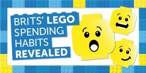 Brits' LEGO spending habits revealed