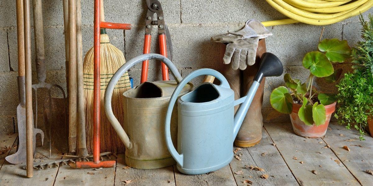 Garden Storage Ideas That Will Help You Save Space