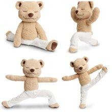 Yoga Yogi Meddy Teddy Bear Plush Toy Stuffed Doll