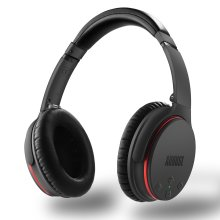 Active Noise Cancelling Bluetooth Headphones - August EP735 - ANC Bluetooth Headphones for Smartphones/Tablet / Computer - Reduce Air Travel Engine... - Refurbished