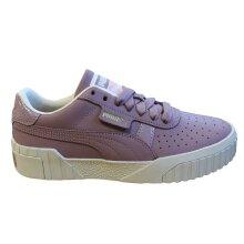 Puma Cali Nubuck Womens Trainers Casual Lace Up Shoes Purple 369161 02